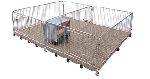 2mm钢板结构,高培保育床的规格有1800*2200*1000mm